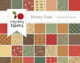 25% Off SALE Honky Tonk Charm Pack by Eric and Julie Comstock - One Charm Pack - 37080PP