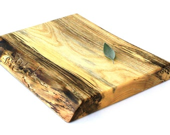 """Rustic Wine & Cheese Board - Spalted Silver Maple - Ready to Ship - 11""""x8-1/2""""x1"""""""