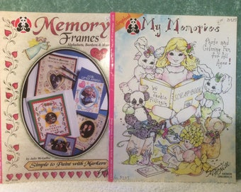 Scrapbook Coloring Books and Embellishments