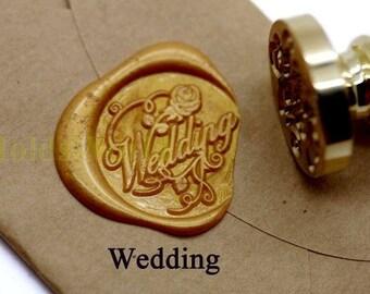Wedding Wax Seal Stamp Kit Sealing Wax Kits Wax Seal Stamp Kits Custom Wax Seal Gift Box Package F2003