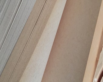 Original Beautiful Vintage Weathered Reams of Blank Paper - 50 Sheets | Custom Quantities Available
