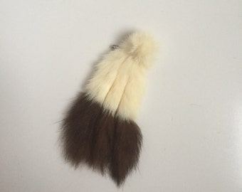 SALE! 1920s ermine tail brooch