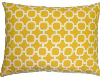 YELLOW PILLOW.12x16 or 12x18 inch Sale.Lumbar Pillow Cover.Decorative Pillows.Housewares.Yellow .Yellow Pillow.Outdoor Cushion.Pillow Cover