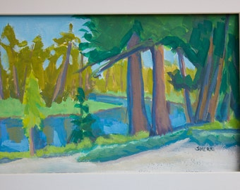Morning Glory Deschutes River Central Oregon Original Painting