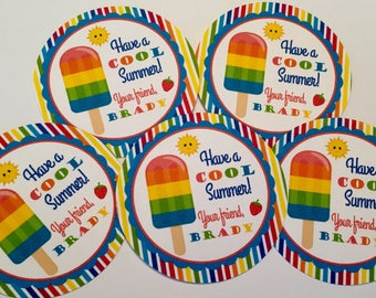 End of School Favor Tag - Summer Favor Tag