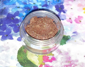 Dragon Scales - bright bronze with a green shift eyeshadow 5 gram VEGAN