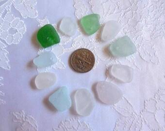 Bulk Lake Erie Beach Glass Jewelry Quality
