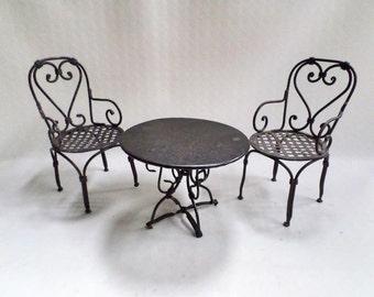 franz sische gartenstuhl etsy. Black Bedroom Furniture Sets. Home Design Ideas