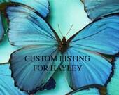 Custom listing for Hayley