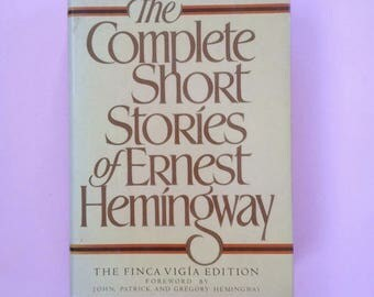 SALE - Complete Hemingway Collection