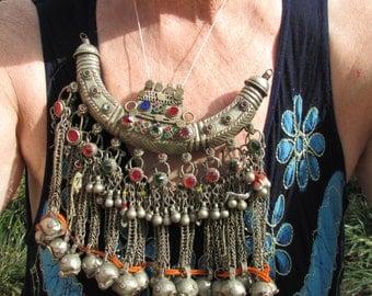 Sale Large Pectoral Tribal Necklace