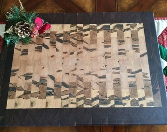 Butcher Block / Chopping Block, Black Walnut and Ambrosia Maple, #4