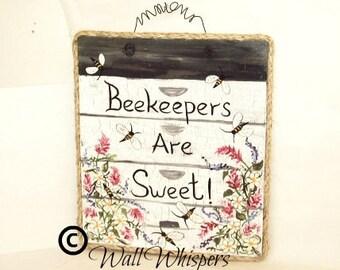 Beekeeping Beekeeper Sign