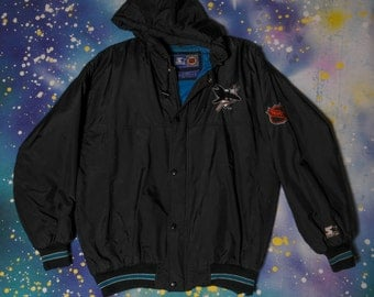 San Jose SHARKS Hockey  Starter Jacket Size L