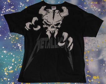 METALLICA Metal Rock T-Shirt Size L