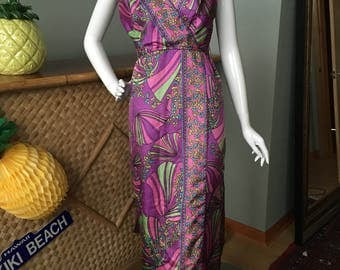 A most lovely vintage party dress.  Mid century modern design and style 1960's-70's?