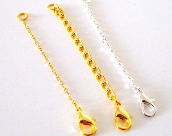 Chain Extender, All Jewellery - chain extender - necklace extender - bracelet extender - gold chain extender - silver chain extender