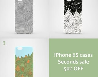 iPhone 6S Seconds Sale / illustrated iPhone 6S cases / bargain iPhone 6S cases / 50 % off