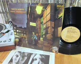 David Bowie - Ziggy Stardust and The Spiders From Mars - THE Must Own Bowie LP - Starman - Nice Copy!