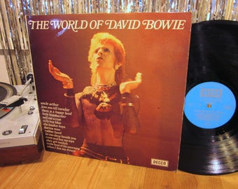 David Bowie - The World Of David Bowie - Compilation of Material from his little known Self Titled LP and Unreleased Tracks
