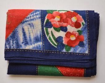 Cotton handkerchief, Japanese handkerchief #11