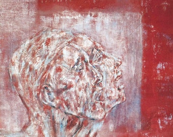 Leon Golub-Untitled-1992 Poster