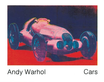 Andy Warhol-Mercedes W 125 (1937)-1989 Poster