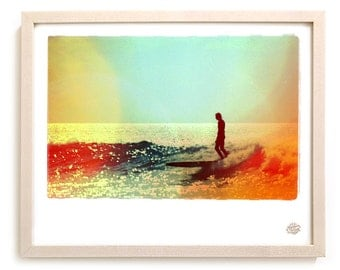 "Surf Photo Limited Edition  Print ""Rove"" - Borrowed Light Series"