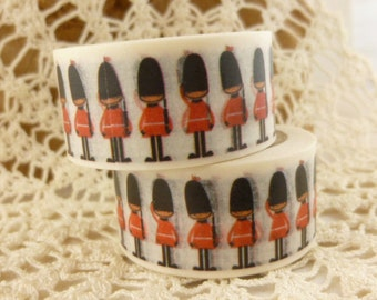 Royal Guard, Tin Soldier Washi Tape