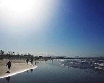 byron bay beach australia ocean photo print