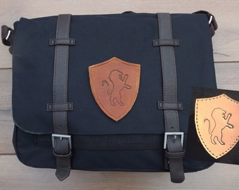 Gryffindor Messenger bag, Harry Potter Undyed