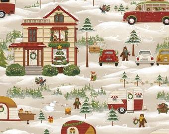 Fat Quarter Christmas Journey 100% Cotton Quilting Fabric - Fabri-Quilt