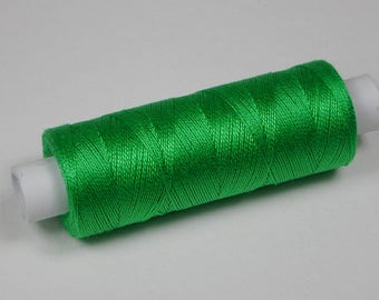 Jerry cotton, knitting and crochet yarn for the miniature handmade, color Granny Smith # 5002