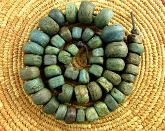 Antique Hebron Glass Beads