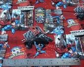 Superman 100% Cotton Fabric Fat Quarter