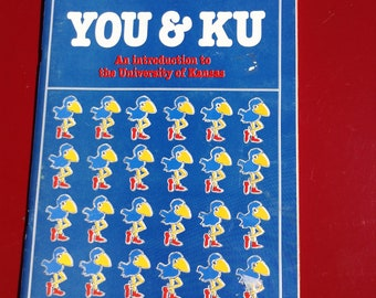 Vintage 1983 You & KU prospective undergrad packet with parent handbook free domestic shipping