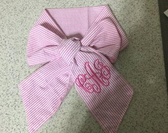 Swaddle Wrap Tie Monogrammed