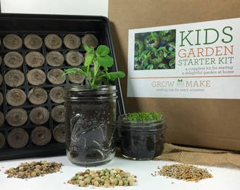 DIY Kid's Garden Kit