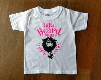 Little beard puller onesie or tee.