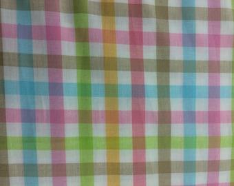 SALE**** Gingham Fabric Easter Basket