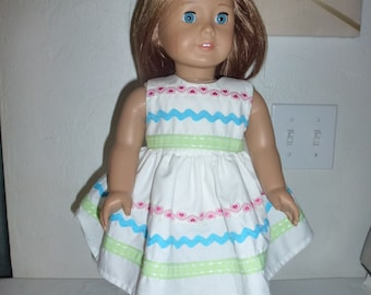 """18"""" Doll Dress Fits American Girl, Madame Alexander,My Twin,Gotz Dolls and Other 18"""" Dolls"""