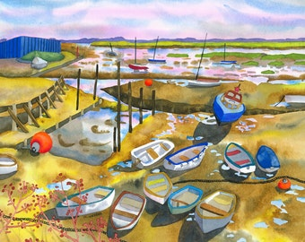 Leigh on Sea Limited Edition Signed Print