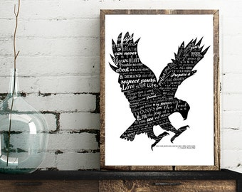 Poem by Tecumseh, American Shawnee Chief. Choose from 2 Looks - Frames Not Included
