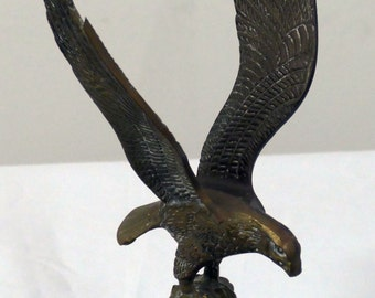 Vintage Brass Eagle