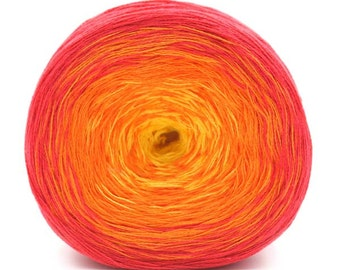 Transitions 3-Ply Laceweight Cotton Acrylic Shawl Yarn Color 19