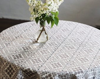 Tablecloth   Rectangle Tablecloth   Table Cloth   Table Cover   Rustic Wood  Tablecloth   54x82