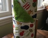 Cloth Paper Towels, Kitchen Towels, Fabric Paper Towels, Reusable Towels, Wedding Gift, Earth Friendly, Reusable Paper Towels, Snapping