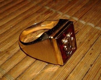 SOLD SOLD Men's Ring 14 karat Gold