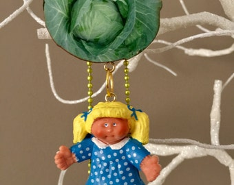 Cabbage Patch Doll Necklace