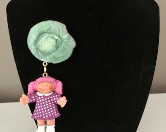 Cabbage Patch Doll Brooch